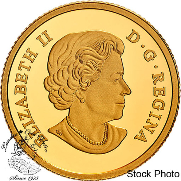 Canada: 2021 $100 100th Anniversary of Bluenose: The Launch Pure Gold Coin