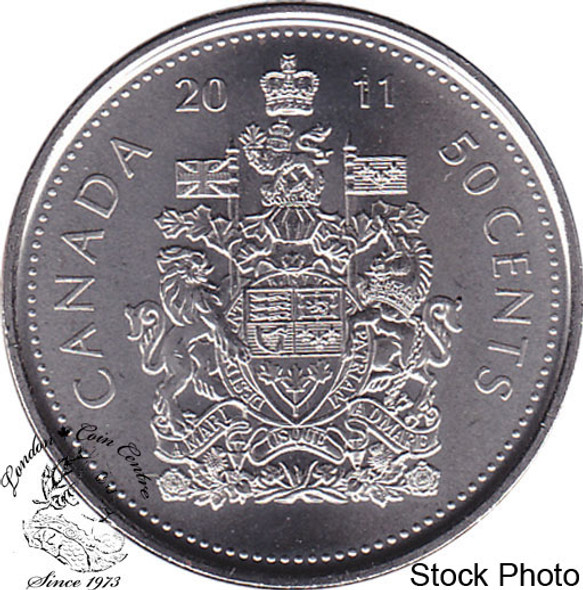 Canada: 2011 50 Cent Logo Proof Like