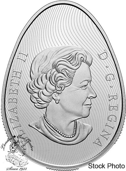 Canada: 2021 $20 Pysanka 1 oz. Pure Silver Coin