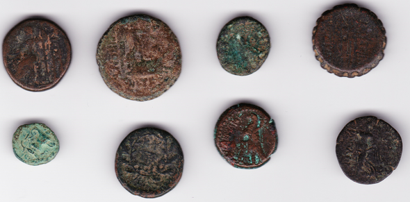 Ancient Greece: Bulk Coin Lot (8 Pieces) #3