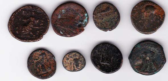 Ancient Greece: Bulk Coin Lot (8 Pieces) #10