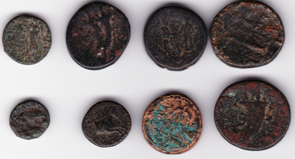 Ancient Greece: Bulk Coin Lot (8 Pieces) #11
