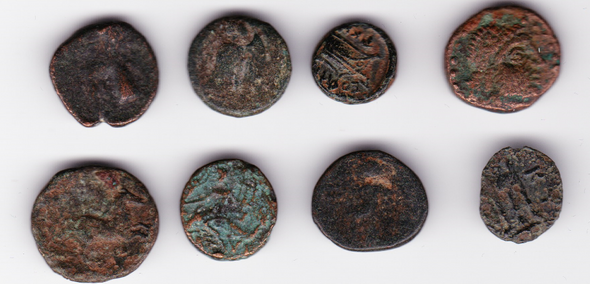 Ancient Greece: Bulk Coin Lot (8 Pieces) #12