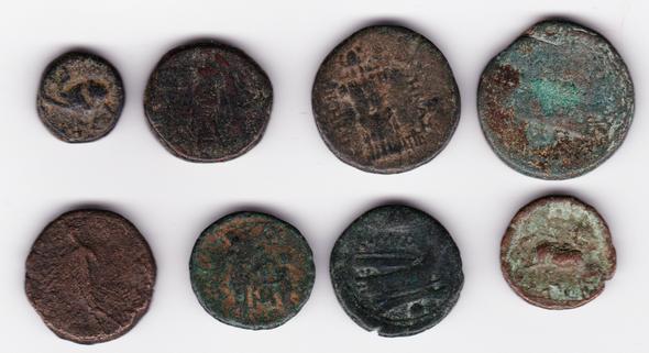 Ancient Greece: Bulk Coin Lot (8 Pieces) #13