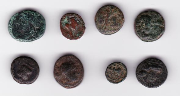 Ancient Greece: Bulk Coin Lot (8 Pieces) #14