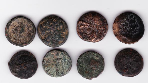 Ancient Greece: Bulk Coin Lot (8 Pieces) #15