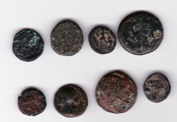 Ancient Greece: Bulk Coin Lot (8 Pieces) #16
