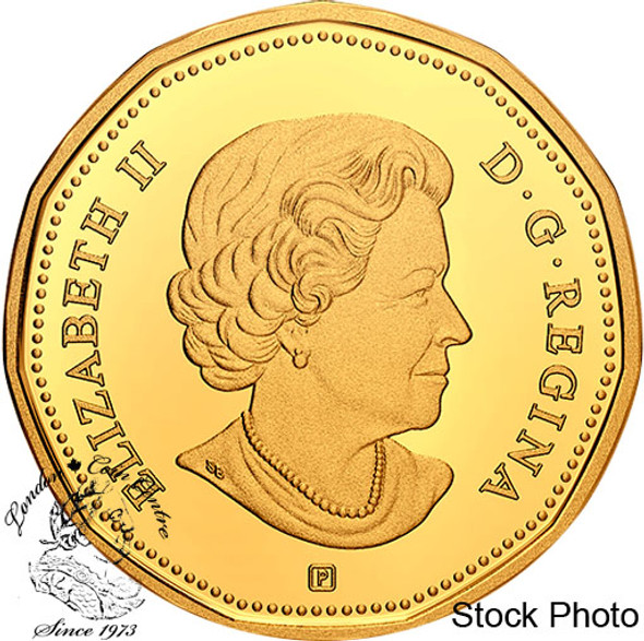 Canada: 2021 $1 Proof Silver Coin with Gold Plating