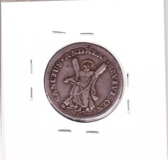 Brunswick-Luneberg-Calenburg-Hannover German States: 1711/10 Silver 6 Mariengrosch