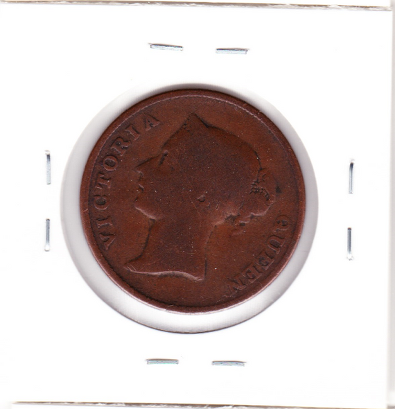 Straits Settlements: 1862 Cent