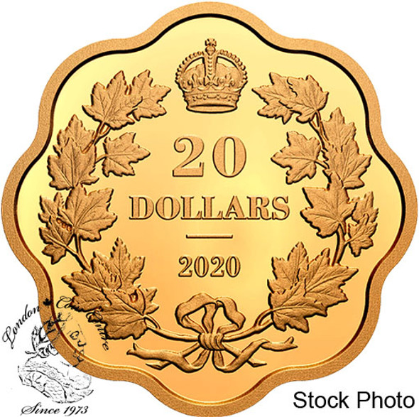 Canada: 2020 $20 Iconic Maple Leaves Masters Club Pure Silver Coin