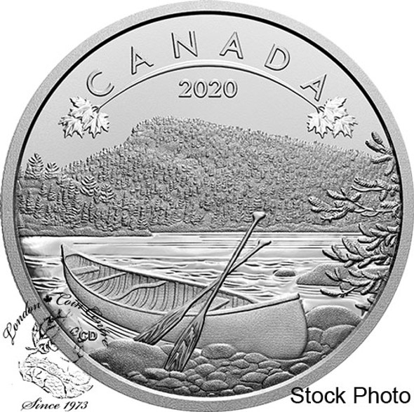 Canada: 2020 $10 O Canada Series #6: The Great Outdoors 1/2 oz Pure Silver Coin