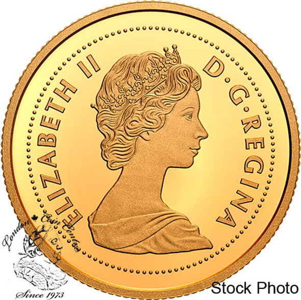 Canada: 2020 1 Cent Tribute to Alex Colville: 1967 Penny 1/10th oz. Pure Gold Coin