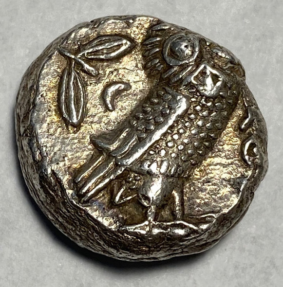 Ancient Greece, Athens: 393-294 B.C. Large Silver Tetradrachm with Owl