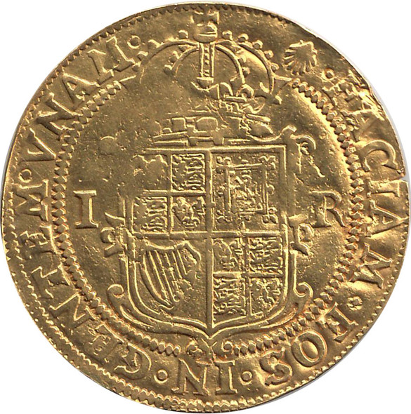 England: 1606-1607 Gold Unite James I
