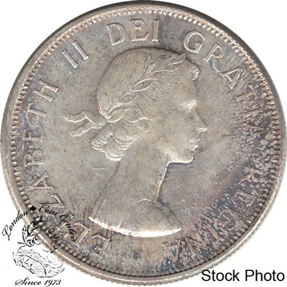 Canada: 1961 50 Cent MS64