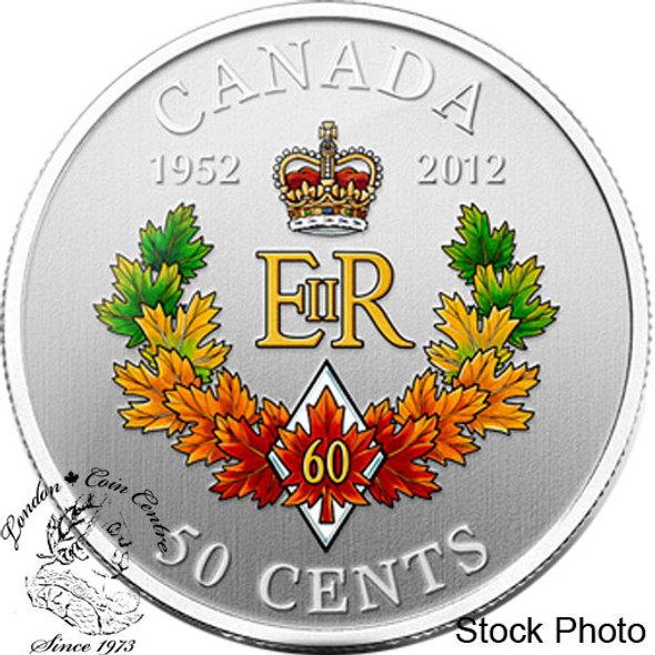 Canada: 2012 50 Cents The Queen's Diamond Jubilee