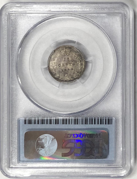 Canada: 1858 10 Cents PCGS MS62