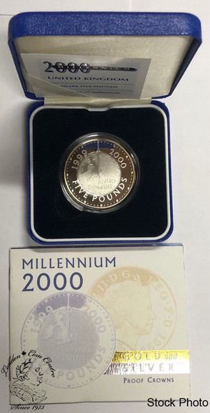 Great Britain: 1999 5 Pound Pure Silver Coin