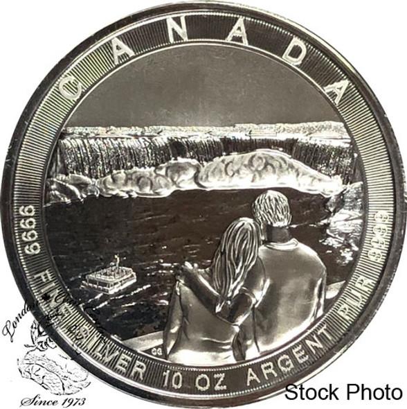 Canada: 2017 $50 Canada The Great: Niagara Falls 10oz Silver Coin