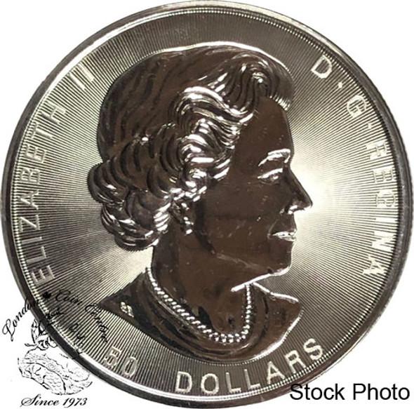 Canada: 2017 $50 Sugar Maple Leaf 10oz Silver Coin