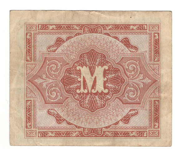 Germany: 1944 1/2 Mark Banknote