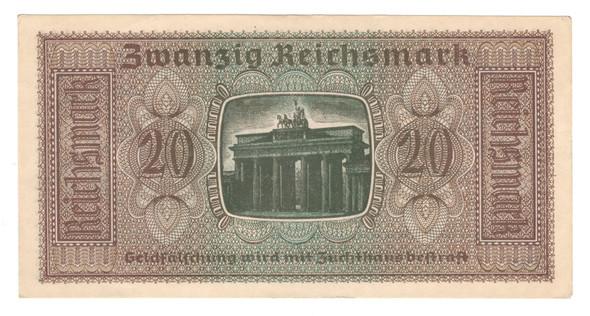 Germany: 1940 20 Mark Banknote