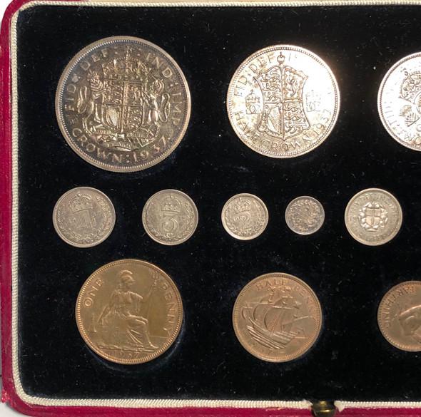 Great Britain: 1937 Specimen Coin Set