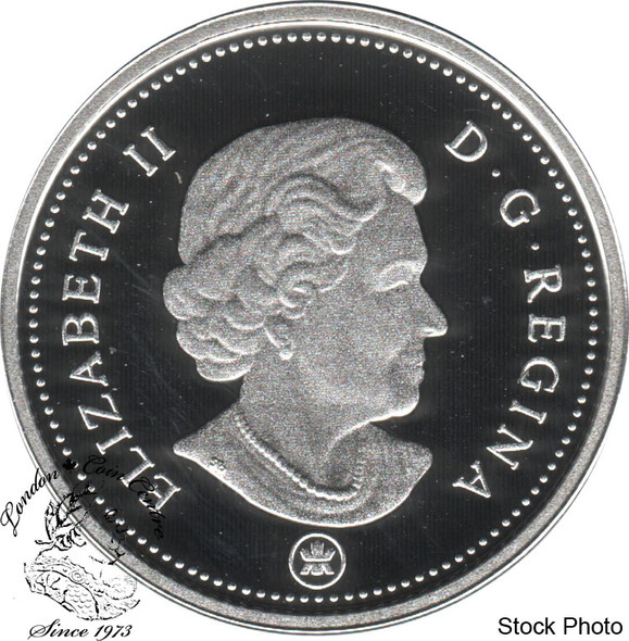 Canada: 2010 5 Cent Proof