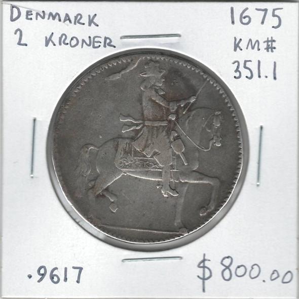 Denmark: 1675 2 Kroner