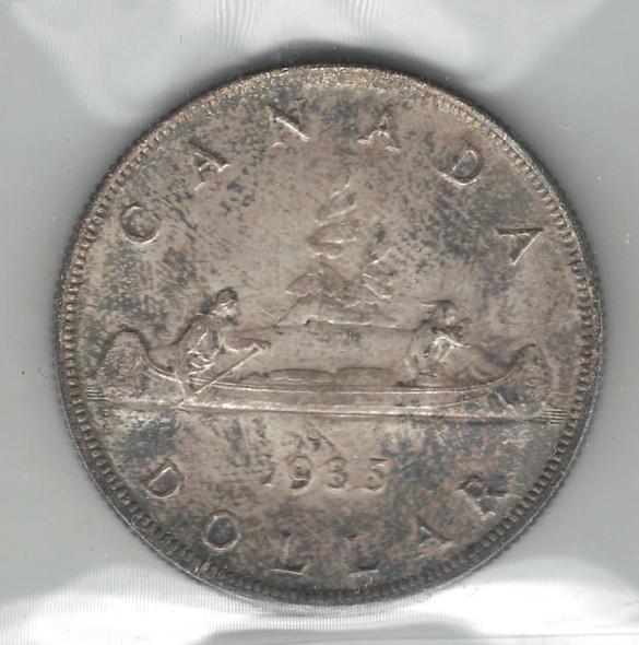 Canada: 1935 $1 ICCS MS65 Lot#4