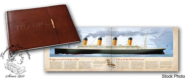 Canada: 2012 50 Cents & 25 Cents R.M.S. Titanic in Folder + More