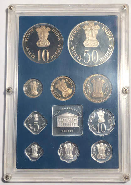 India: 1977 Proof Coin Set
