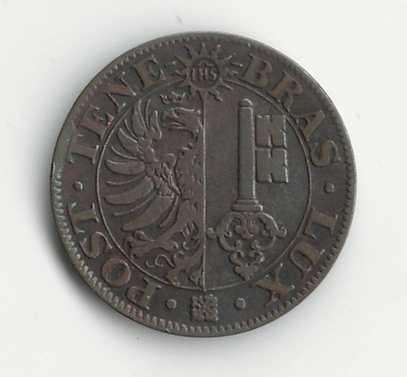 Swiss Cantons: 1840 5 Centimes