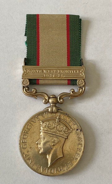 British India General Service Medal North West Frontier 1936-37