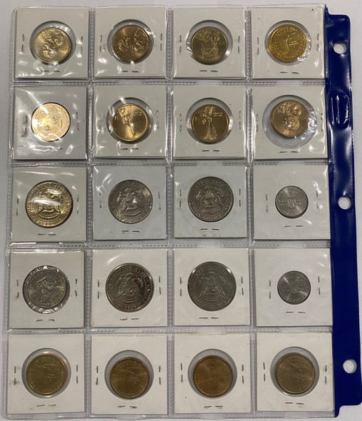 United States: Group of Modern Coins (20 pieces)