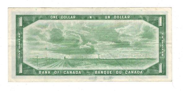 Canada: 1954 $1 Bank Of Canada Banknote BC-37b-i Lot#6