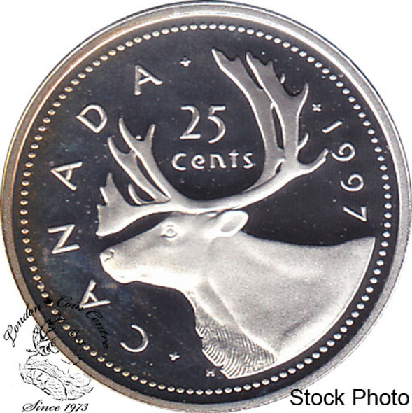 Canada: 1997 25 Cent Proof