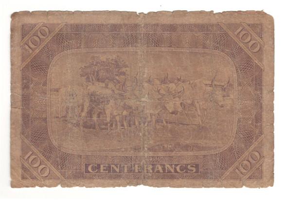 Mali: 1960 100 Francs Banknote