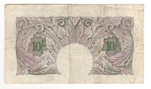 Great Britain: 1940 - 1948 10 Shillings Banknote