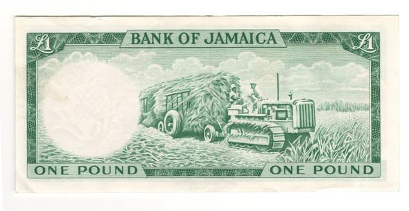 Jamaica: 1964 1 Pound Banknote