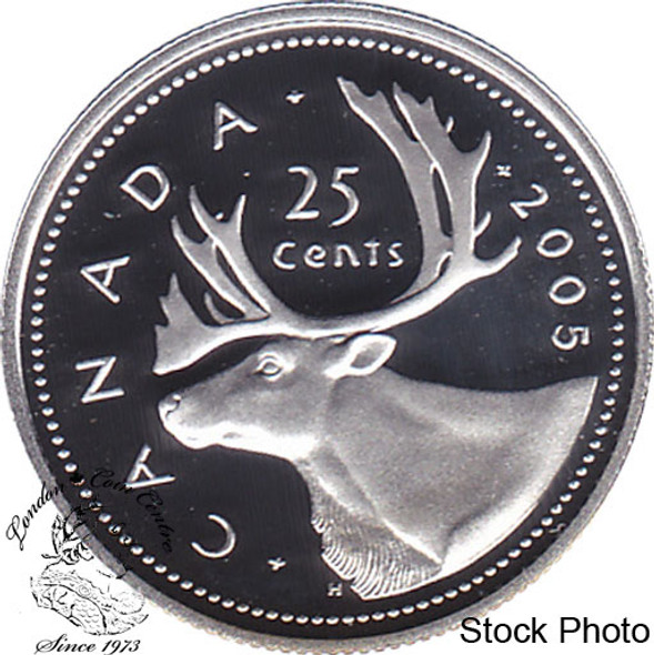 Canada: 2005 25 Cent Proof