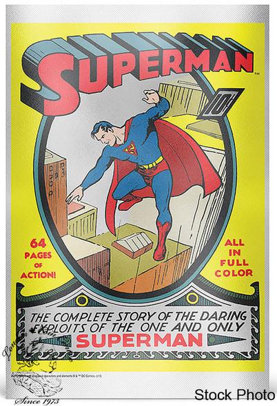 New Zealand Mint: 2018 Superman #1 35 Gram Pure Silver Foil