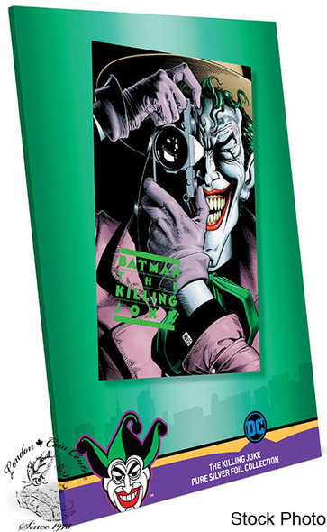 New Zealand Mint: 2019 Batman The Killing Joke 35 Gram Pure Silver Foil
