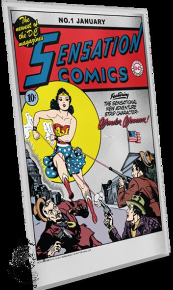 New Zealand Mint: 2020 Sensation Comics #1 35 Gram Pure Silver Foil