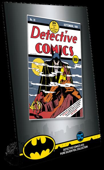 New Zealand Mint: 2019 Detective Comics #31 35 Gram Pure Silver Foil