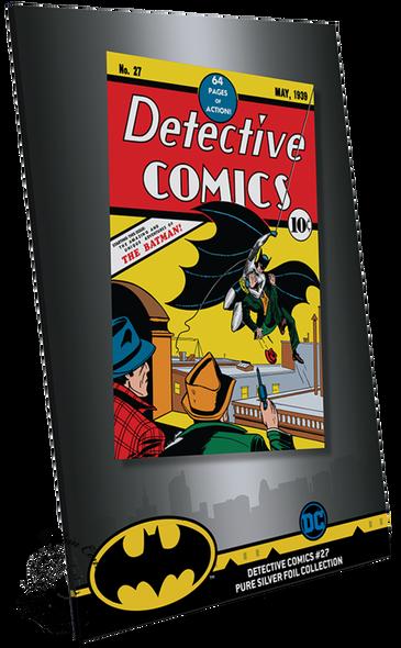 New Zealand Mint: 2018 Detective Comics #27 35 Gram Pure Silver Foil