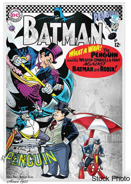 Niue: 2019 Batman Villains: The Penguin 5 Gram Pure Silver Coin Note