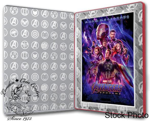 Perth Mint: 2019 Avengers Endgame 1 oz Pure Silver Foil Poster