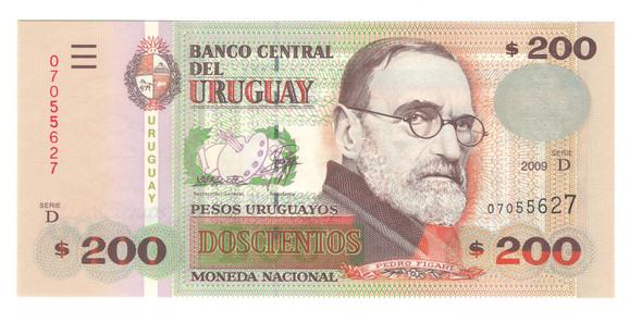 Uruguay: 200 Pesos Banknote P.89b